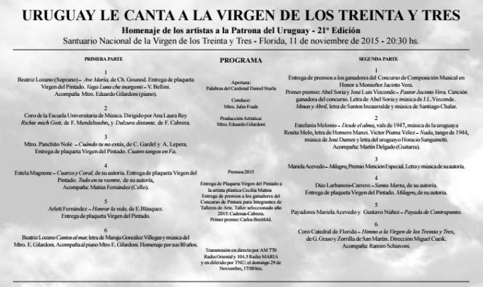 programa 2015 DORSo