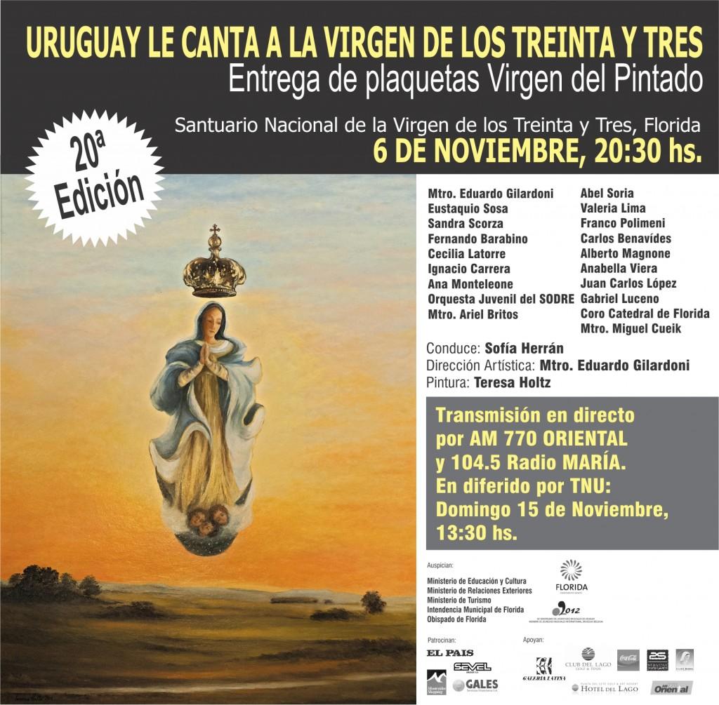 VIRGEN DE LOS 33 2014